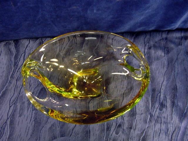 A368 gelbe schale sehr sch ne form ebay for Dekoration 70iger jahre