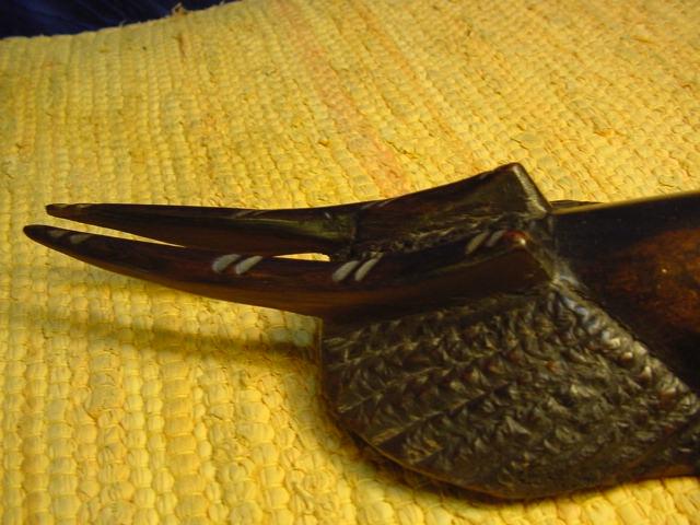 A748 holzmaske aus afrika ebay for Dekoration 70iger jahre