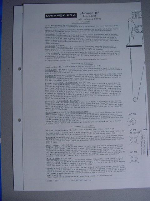 C522 schaltplan leowe opta autoportts typ 52385 mit for Dekoration 70iger jahre